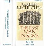 The First Man in Rome Unabridged Audio Part 1 and 2 Unabridged Audio Cassette Livre Pdf/ePub eBook