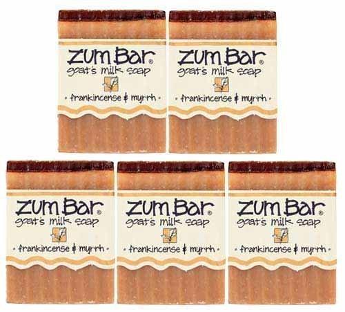 Indigo Wild: Zum Bar Goat's Milk Soap, Frankincense & Myrrh 3 oz