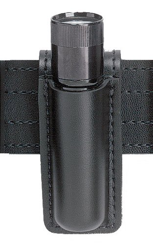 Safariland 306 Open Top Mini Flashlight Carrier, Tactical Black, Streamlight Stinger