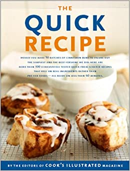 Book The Quick Recipe (Best Recipe)