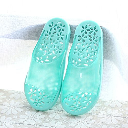 Home Bathing Slippers Home Men and Women Non-Slip Bath Slippers Men and Women Winter Summer Home Couple Slippers Massage Slippers (6 Colors Optional) (Size Optional) (Color : C, Size : M(38-40))