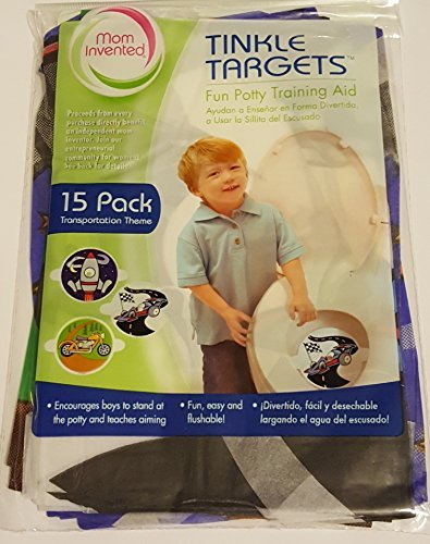(Tinkle Targets 15 pack - Planes, Trains & Motorcycles)
