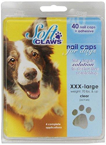 - Soft Claws Nail Caps Take Home Kit, Jumbo, Natural