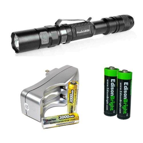 Fenix LD22 Flashlight, Black
