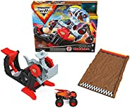 Monster Jam, Official Playset Featuring Exclusive 1:64 Scale Die-Cast Zombie Monster Truck