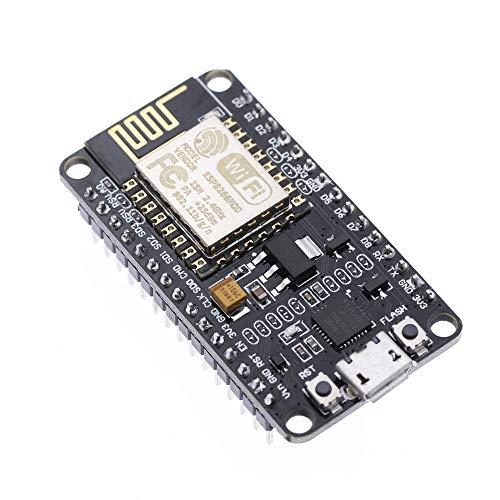 HWAYEH New Version ESP8266 NodeMCU LUA CP2102 ESP-12E Internet WiFi Development Board Open Source Serial Wireless Module Works Great with Arduino IDE/Micropython (ESP8266 NodeMCU LUA) (Best Ide For Lua)