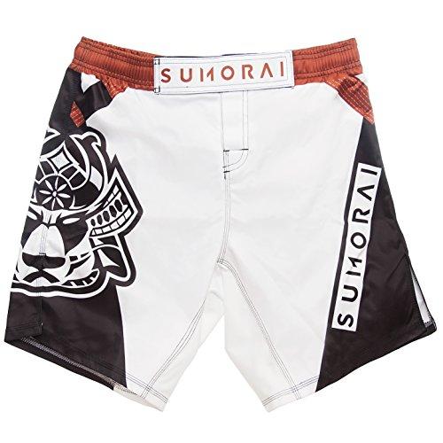 SUMORAI MMA BJJ Kickboxing WOD Shorts (Medium, Brown)