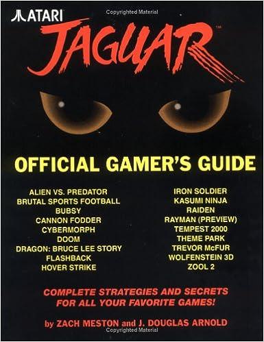 Atari Jaguar Official Gamers Guide (Gaming Mastery): Amazon ...