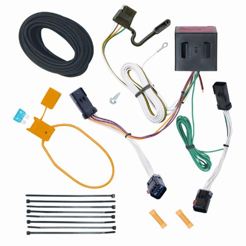 Jeep Liberty Trailer Wiring - Reese Plug and Play Hitch Wiring Trailer Lights for 2002-2007 Jeep Liberty