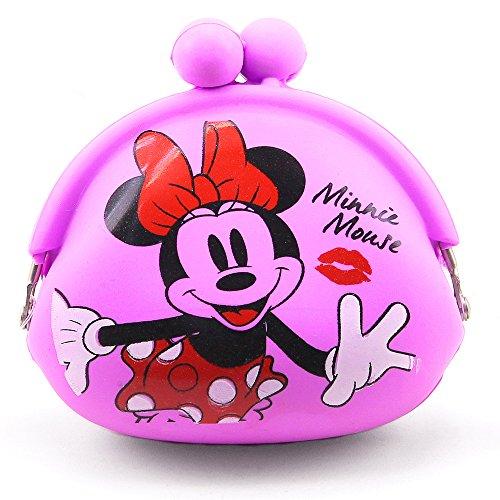 Chaveiro Porta Moeda Silicone Minnie - Disney