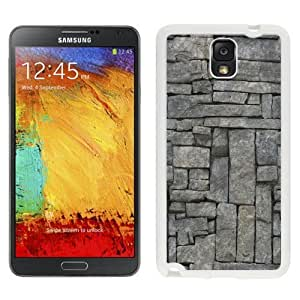 NEW Custom Cover For Samsung Galaxy Note 3 N900 Case With Stone Wall Texture Pattern_White Phone Case