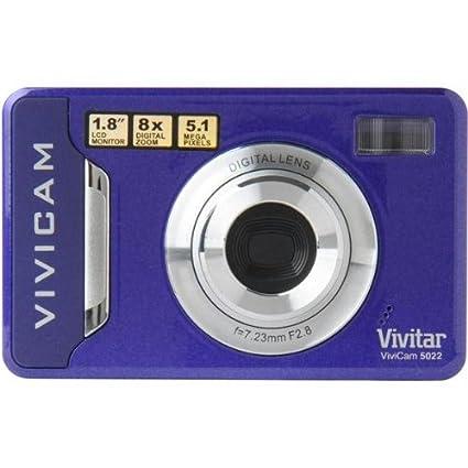 amazon com vivicam v5022 purple 5 1mp 1 8in screen digital rh amazon com Vivitar Camera Manual Vivitar Digital Binocular Camera Manual