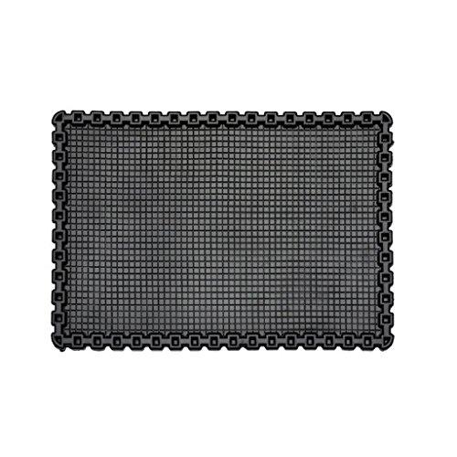 uniuni–Esterilla grande 20x 13cm, antideslizante resistente al calor antideslizante para salpicadero de coche pad...