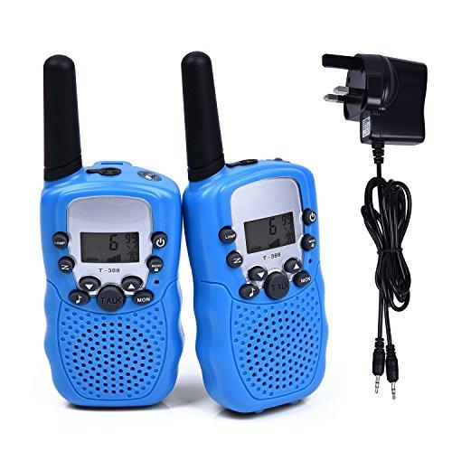Fetoo 2pcs Kids Walkie Talkies Children Walky Talky PMR446 3KM Range with...