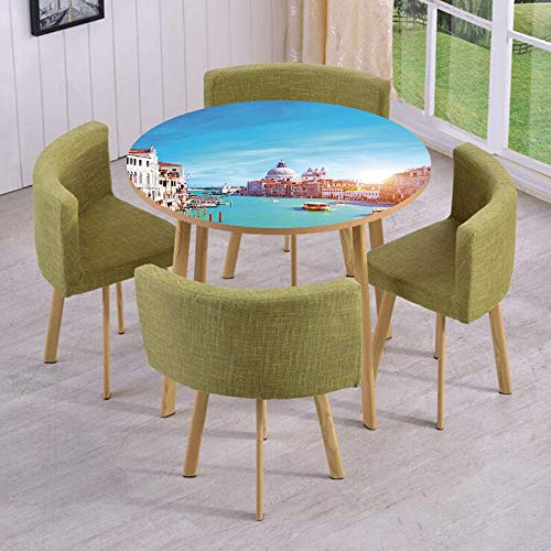 all/Floor Decal Strikers,Removable,Grand Canal and The Salute Basilica on Sunny Day Touristic Destination,for Living Room,Kitchens,Office Decoration ()