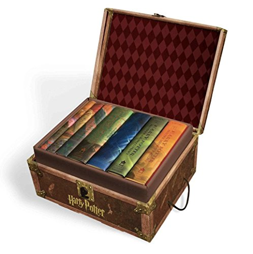 Harry Potter Hardcover Limited Edition Boxed Set: All 7 Books in Chest BRAND NEW