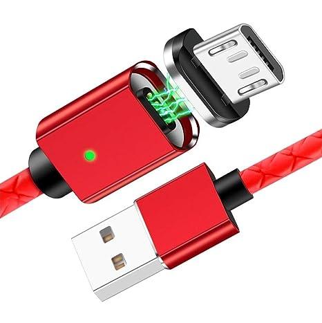 Cable compatible con Xiaomi Mi A2 Lite magnetico cable USB ...