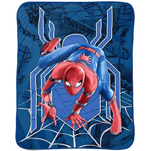 Spiderman Kids Marvel Soft Blanket ()