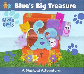 Genuine Blue's Clues - Big Treasure: A Factory outlet Musical Adventure
