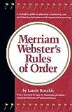 Merriam-Webster's Rules of Order