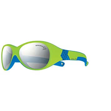Julbo Kid s Bubble Sunglasses, Spectron 3+ Lens, Lime Blue, 3- aa4e36b0a7c3