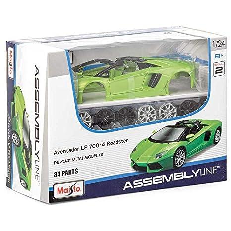 Amazon.com: Maqueta de auto Lamborghini Aventador Die Cast ...