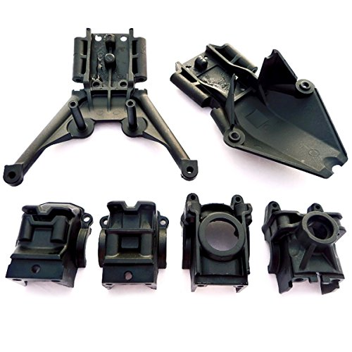 Traxxas Stampede 4x4 XL-5 * BULKHEADS, DIFFERENTIAL HOUSING CASES & SKID PLATES 4x4 Front Differential
