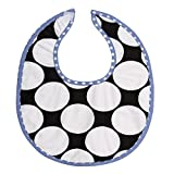 Bacati 2 Piece Dots/Pin Stripes with Blue Pin Dots