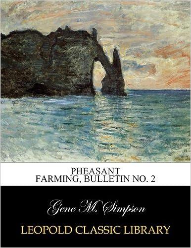 Book Pheasant farming, Bulletin No. 2
