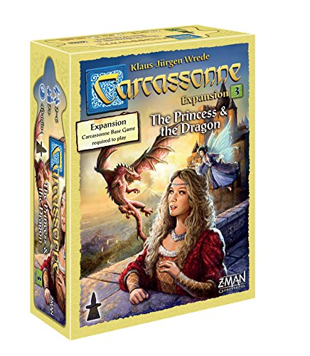 Carcassonne Game (Carcassonne: The Princess & the Dragon)
