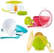 Nuby 0048526054350 conjunto de alimentación de niño - conjuntos de alimentación de niño (colores surtidos)