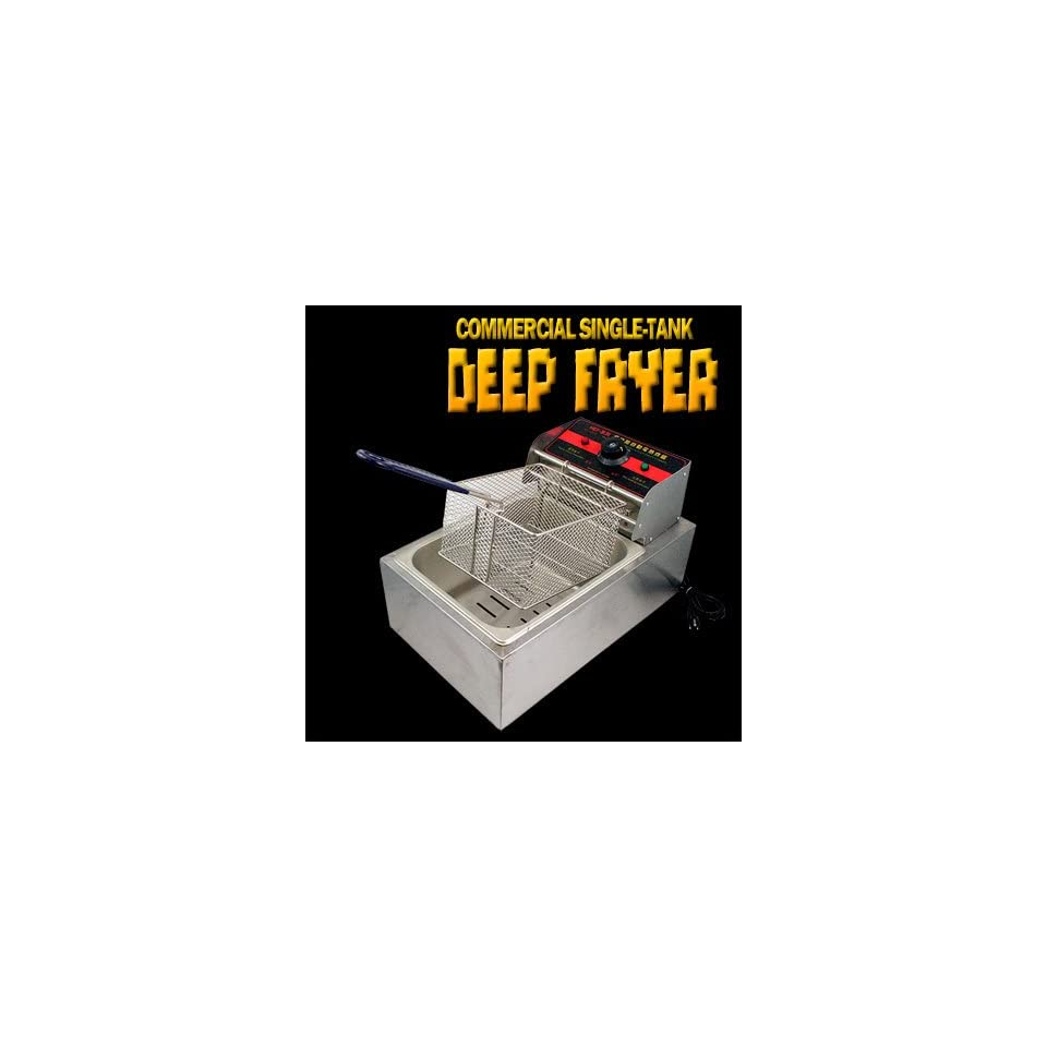New MTN 2500W Commercial Restaurant Countertop Electric Deep Fryer 5L Tank