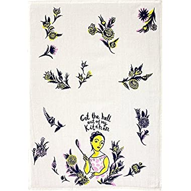 Blue Q Dish Towels, Get The Hell Out of My Kitchen, 1 Pack