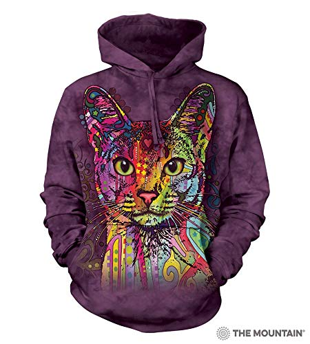 The Mountain Abyssinian Hsw Adult Hoodie, Purple, Small