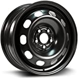 Steel Rim 15X6, 5X100, 57.1, +38, black finish (MULTI FITMENT APPLICATION) X99130N