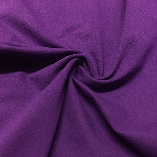Cotton Jersey Lycra Spandex knit Stretch Fabric 58/60