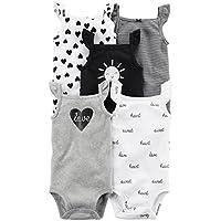 Carter's Baby Girls' 5 Pack Bodysuits (Baby) - Navy