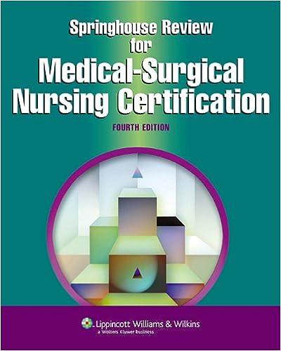 Springhouse Review for Medical-Surgical Nursing Certification ...