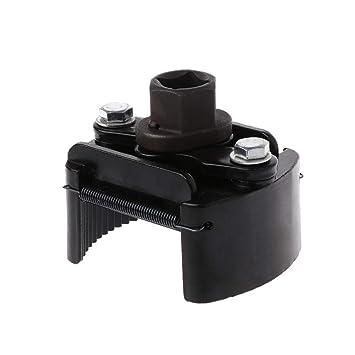 DEDC Llave del Filtro de Aceite 60-80mm Ajustable Universal Herramientas para Coche Moto: Amazon.es: Coche y moto