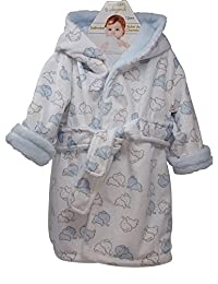 Blankets & Beyond Hooded Robe for a Toddler