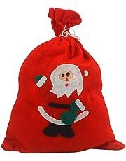 LÅ Vestmon saquitos Saco de Papá Noel Navidad con cordón Navidad Santa Saco Bolsa de Regalo