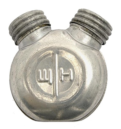 Used, Mosin Nagant Oil Bottle, Soviet Late Issue, Dual Compartment for sale  Delivered anywhere in USA