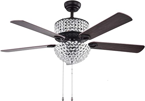Crystal Ceiling Fan