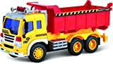 Friction Powered Toy Dump Truck With Lights & Sound...