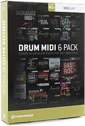 Toontrack Drum MIDI 6-pack