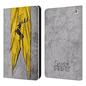 Official HBO Game Of Thrones Baratheon Sigil Flags Leather Book Wallet Case Cover For Amazon Fire HD 7