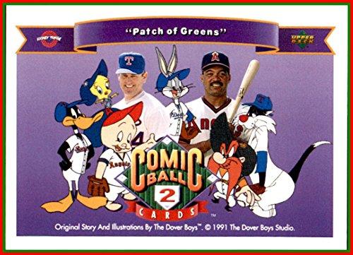 Nolan Ball Ryan (1991 Looney Tunes Upper Deck Comic Ball #136 Reggie Jackson Angels Nolan Ryan Rangers Daffy Duck Porky Pig Bugs Bunny Tweety Bird Sylvester Yosemite Sam)