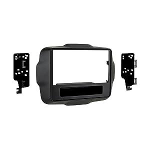 Metra 95-6532B Double DIN Dash Kit for 2015 - Jeep Renegade (Black)