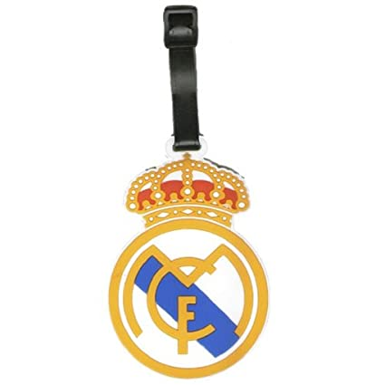 Amazon.com: Real Madrid Club de Fútbol Luggage Tag y ...