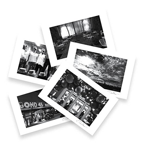 NYC -New York City - Postcards from the book New York City: A Walk in the Lights. 10 Pack, 4x6, 2 of each. Best Quality. Unique as Thank You Notes, Invitations, Christmas & Valentines Day Gifts
